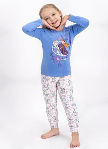 Frozen Pijama Takım İndigo